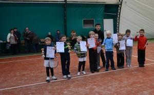 II turniej mini tenis 17.12.2012