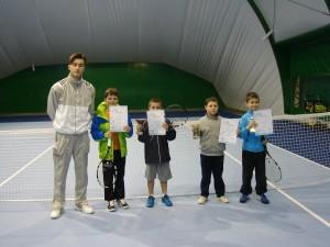 III turniej mini tenis koszalin21.01.2014